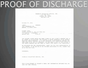 Proof of Discharge 1